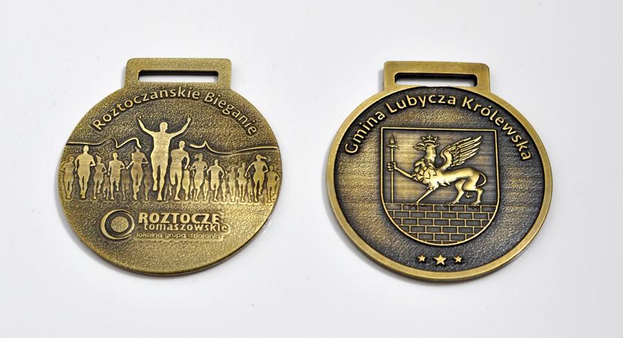 medale odlewane bieg 10km