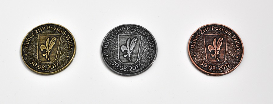 Monety okolicznościowe odlewane