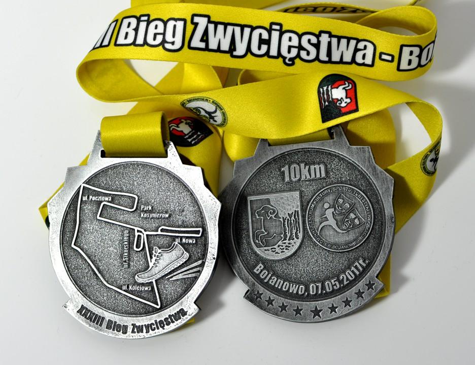 medale zawody w bieganiu