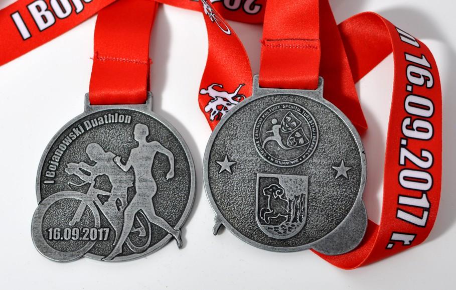 medale duathlon