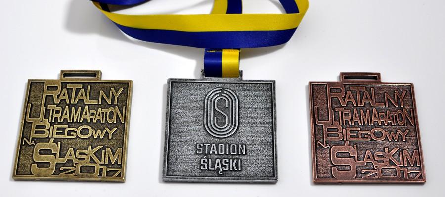 medale odlewane maraton biegowy