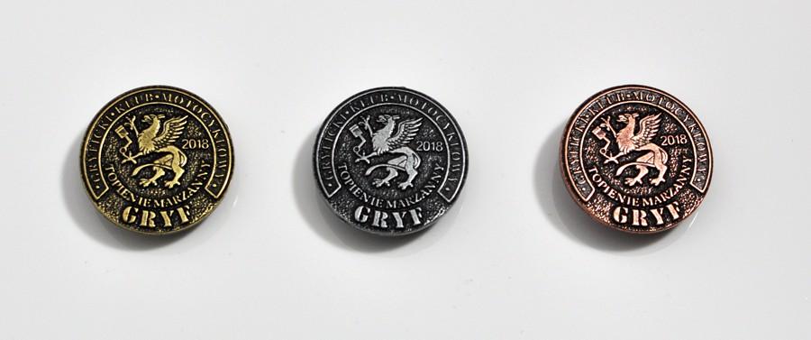 pins odlewany klub motocyklowy